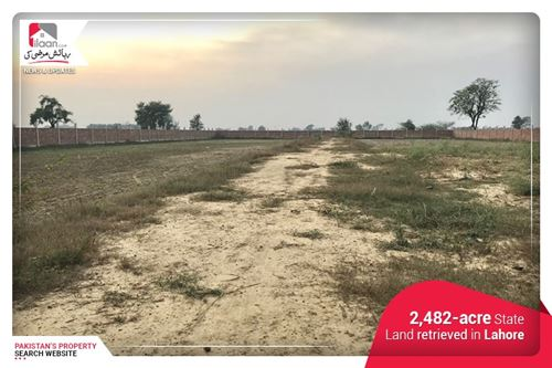 32,482-acre State Land retrieved in Lahore