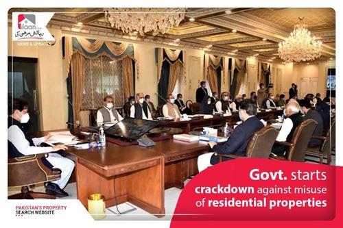 Govt. Starts Crackdown Against Misuse of Residential Properties