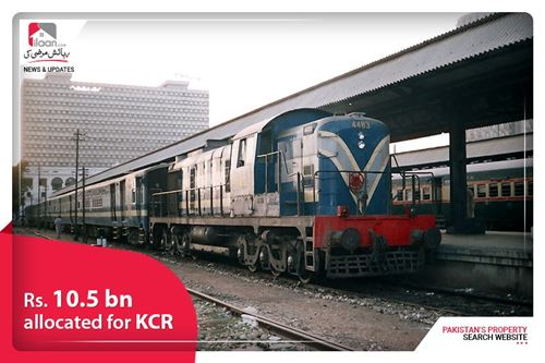 Rs. 10.5 bn allocated for KCR