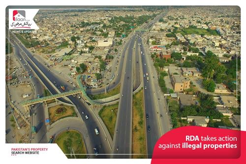 RDA takes action against illegal properties