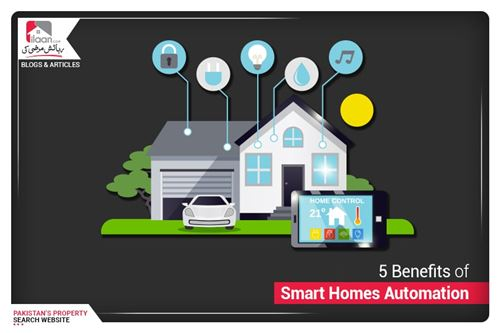 5 Benefits of Smart Homes Automation