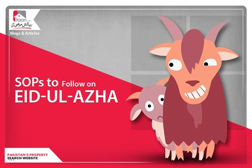 SOP's to follow on the occasion of Eid-Ul-Azha 2020