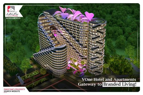 VOne Hotel and Apartments- Gateway to Branded Living!