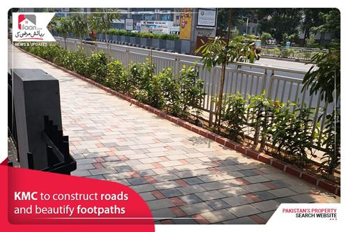 KMC to construct roads and beautify footpaths