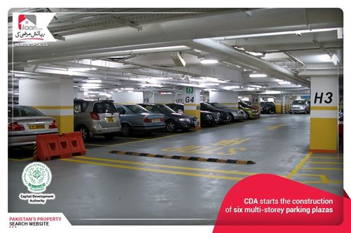 CDA starts the construction of six multi-storey parking plazas
