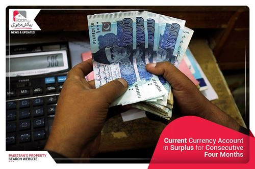 Current Currency Account in Surplus for Consecutive Four Months