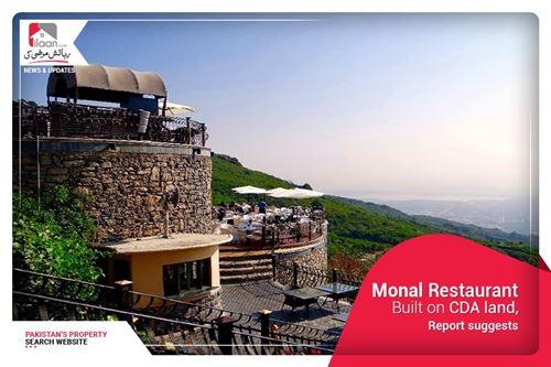Monal Restaurant built on CDA land, report suggests
