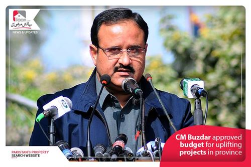 CM Buzdar approved budget for uplifting projects in province