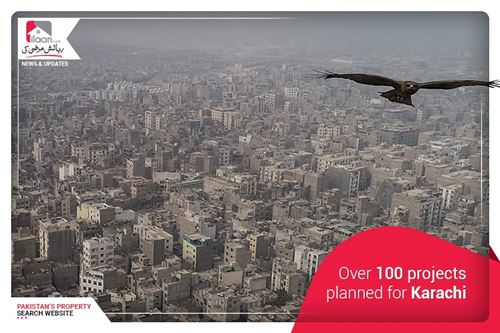 Over 100 projects planned for Karachi