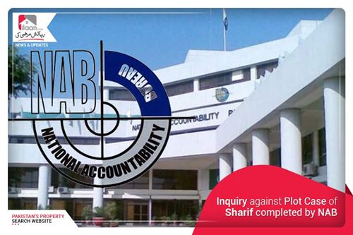 Inquiry against Plot Case of Sharif completed by NAB