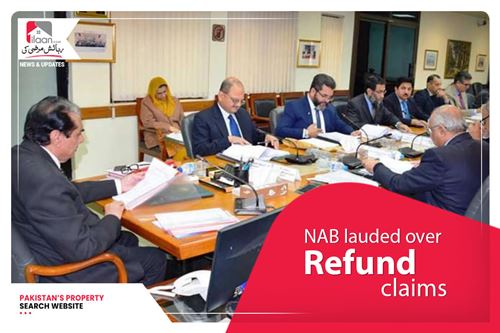 NAB lauded over Fazaia Housing's refund claims