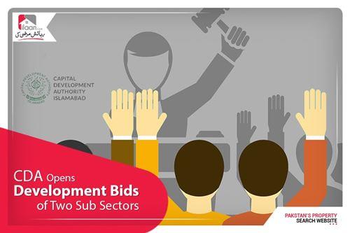 CDA opens technical bids for development of two sub-sectors