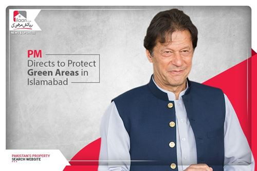 PM directs to protect green areas in Islamabad