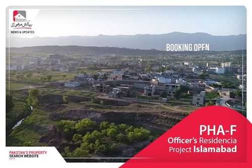 Bookings open for PHA-F Officer's Residencia Project Islamabad