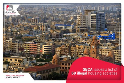 SBCA issues a list of 69 illegal housing societies