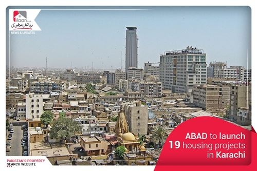 ABAD to launch 19 housing projects in Karachi