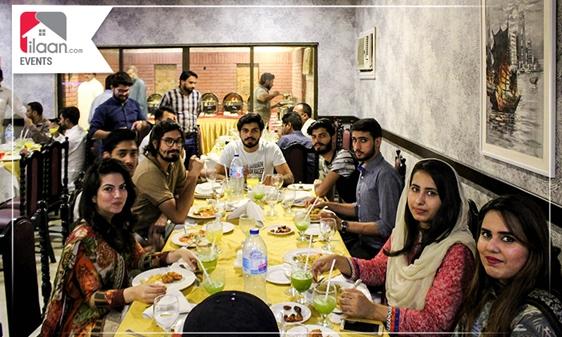 ilaan iftar at Sichuan Lahore
