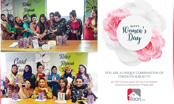 Women's Day Celebrations at ilaan.com
