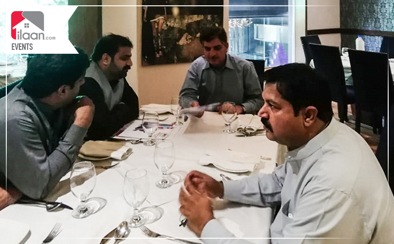 Meeting with the Provincial Minister of Energy Dr. Akhtar Malik regarding Naya Pakistan Housing Project.