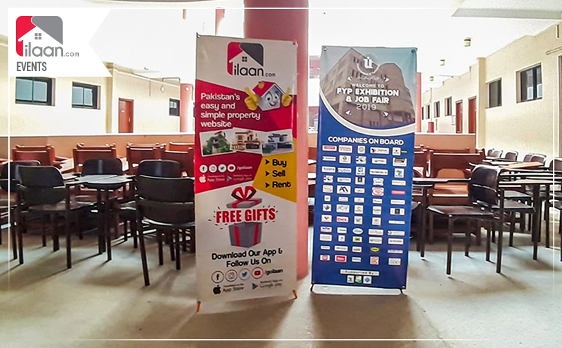 ilaan.com Participated in Job Fair at Usman Institute of Technology to Open New Doors of Employment