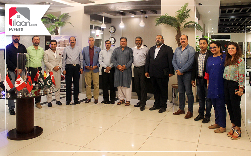 Dinner with DHA City Officials