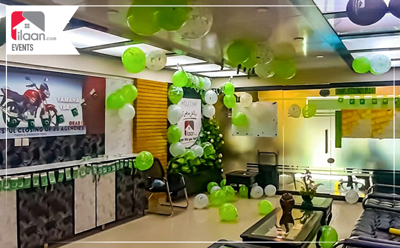 ilaan.com Remembered Kashmir During Independence Day Celebrations in Karachi