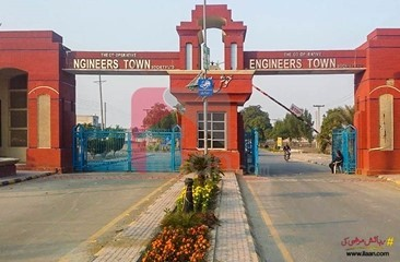 4 kanal commercial plot for sale in Block A3, IEP Engineers Town, Defence Road, Lahore