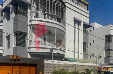 500 ( square yard ) house for sale ( first floor ) in Block 2, PECHS, Jamshed Town, Karachi
