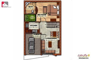 3 marla house for sale in Sun City Housing Scheme, Lahore