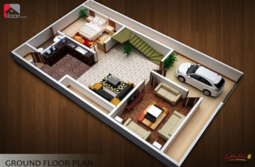 130 ( square yard ) house for sale in Block A, Sindhi Muslim Cooperative Housing Society, Karachi