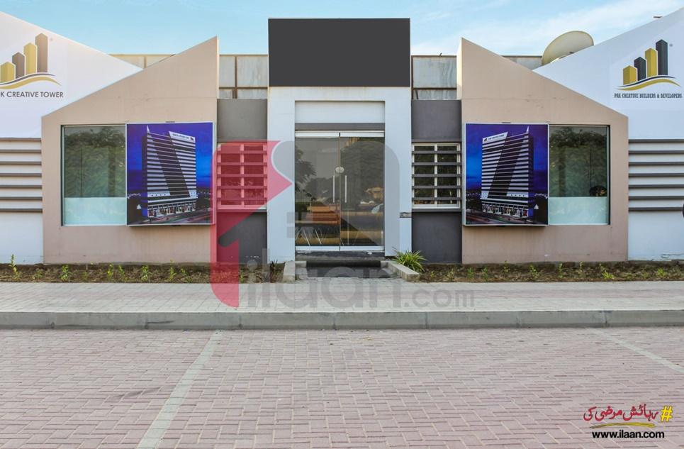 550 Sq.ft Office for Sale (Basement + Ground Floor) in Pak Creative Tower, Bahria Town, Karachi