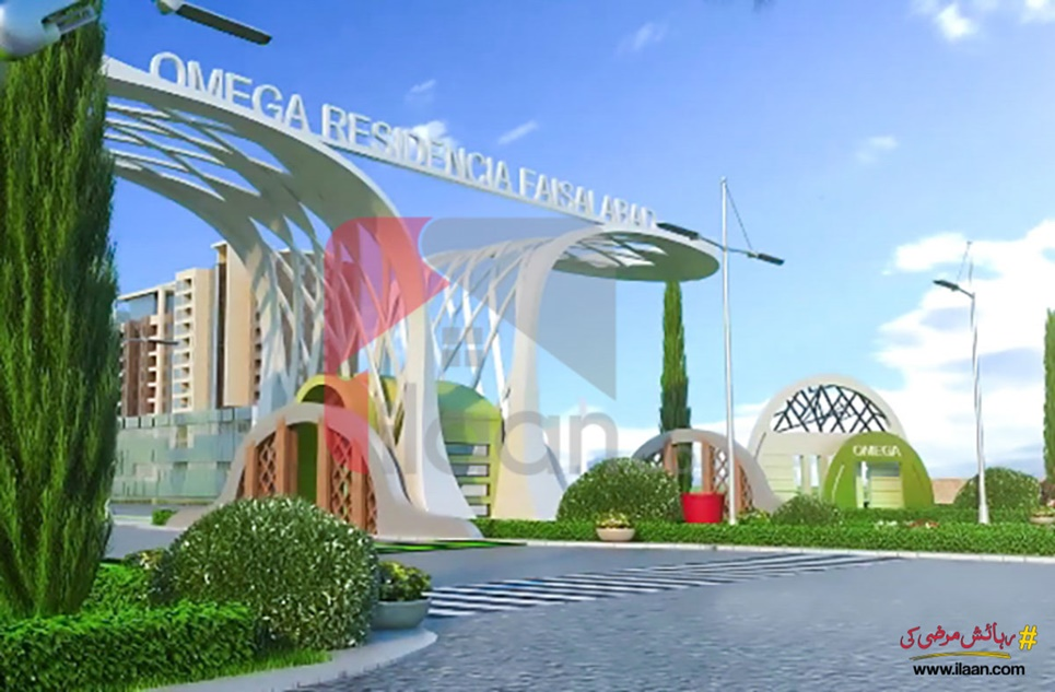 4.5 Marla Commercial Plot for Sale in Omega Residencia, Faisalabad