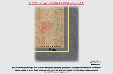 10 marla plot ( Plot no 739 ) available for sale in Block XX, Phase 3, DHA, Lahore