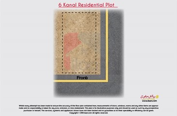 6 kanal plot available for sale on Tufail Road, Cantt, Lahore